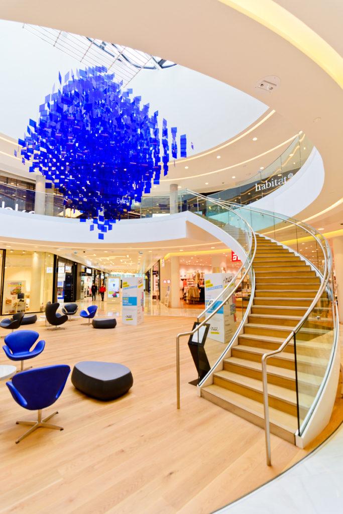 Photographe Metz Architecture Centre Commercial Muse