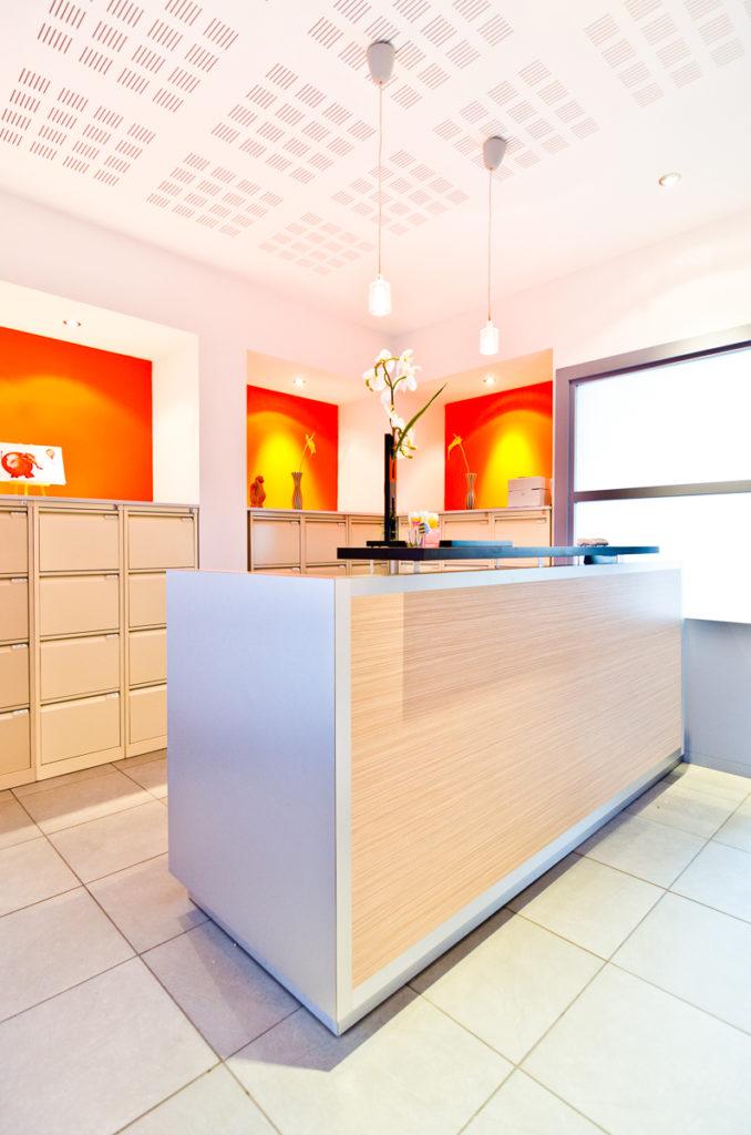 Photographe Metz Intérieur Accueil Cabinet Dentaire Forbach