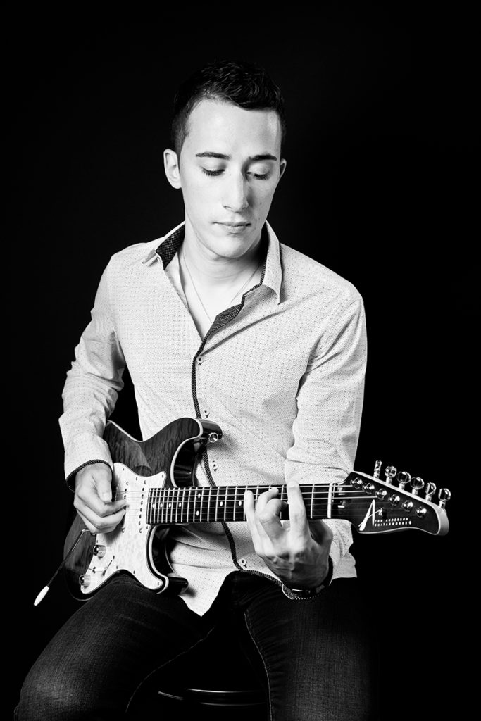 Photographe Metz Artiste Photo Promotionnelle Guitariste