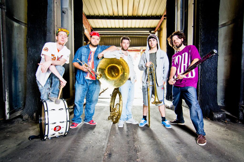 Photographe Metz Artistes Photo Promotionnelle The Brass Machine