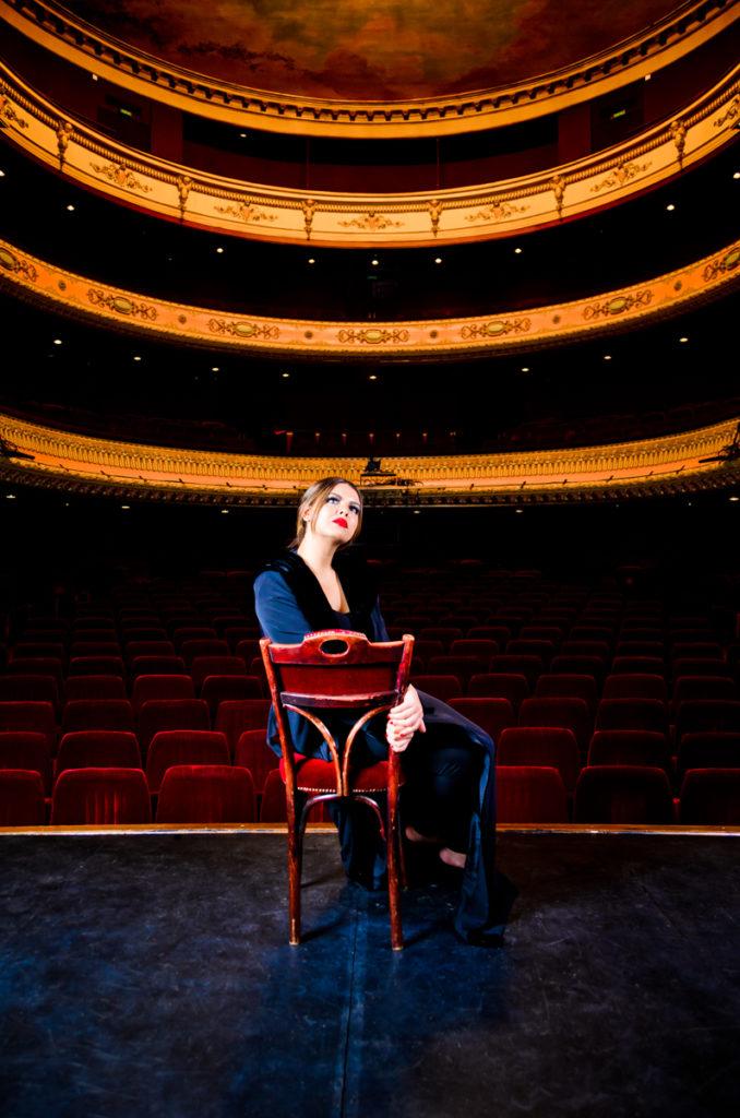 Photographe Metz Portrait au théâtre de Metz